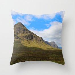 Highland Green Throw Pillow