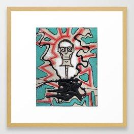 Mr. Ned Framed Art Print