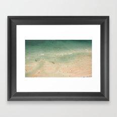 South Beach Aerial Framed Art Print