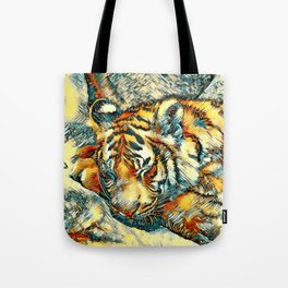 AnimalArt_Tiger_20170606_by_JAMColorsSpecial Tote Bag