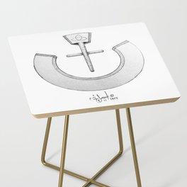 "Nazarene ""ن"" Side Table"