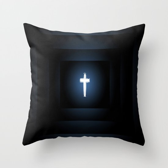 Love Peace n Sacrifice Throw Pillow