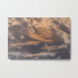 Pastel Sunset pt.3 Metal Print