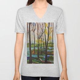 Lively Forest Unisex V-Neck