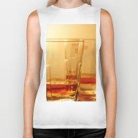 whiskey Biker Tanks featuring Whiskey by Vishal Wadhwani