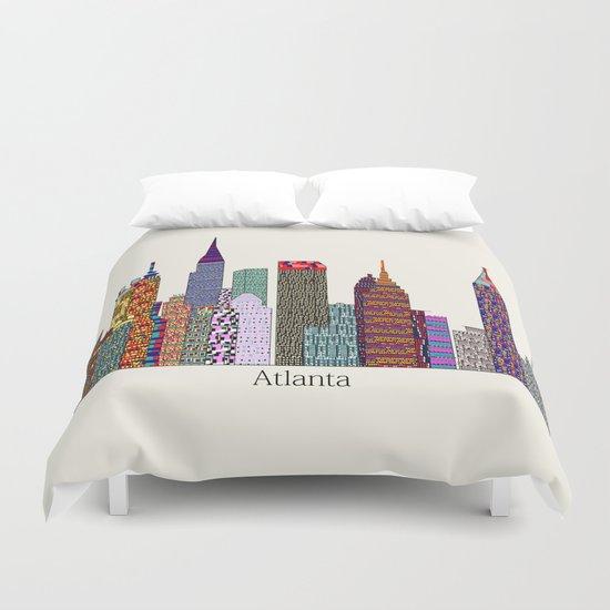 Atlanta city  Duvet Cover