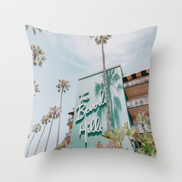 beverly hills / los angeles, california Throw Pillow