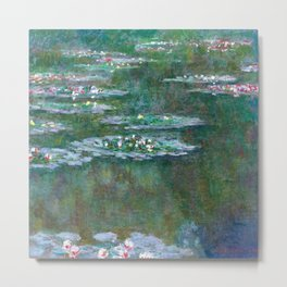 Water Lilies Claude Monet 1904 Metal Print