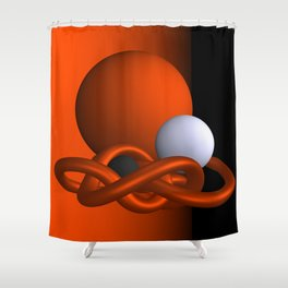 safe -1of3- Shower Curtain