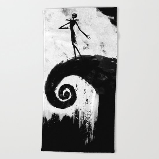 All Hallow's Eve Beach Towel