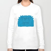 1d Long Sleeve T-shirts featuring 1D by Rebecca Bear