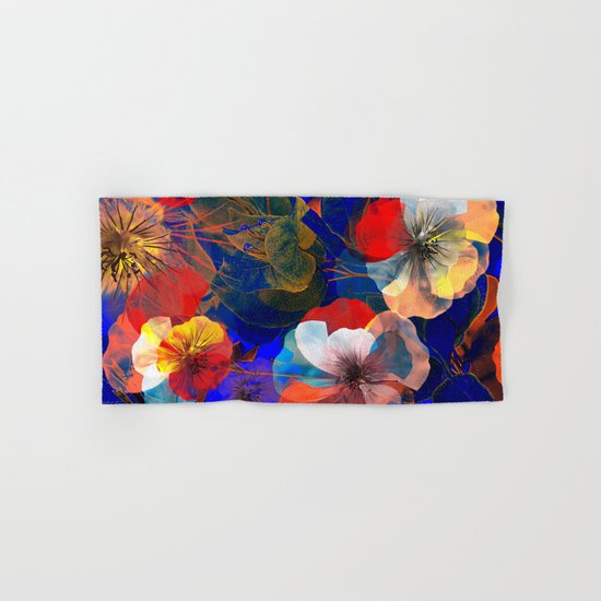 Flower carpet(54). Hand & Bath Towel