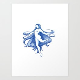 The Unbreakable Spirit of the Water Art Print
