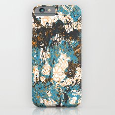 Bold abstract print for spring summer fashion iPhone 6s Slim Case