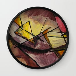 Abstract Forms Wall Clock
