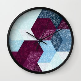 Caleidoscube Wall Clock