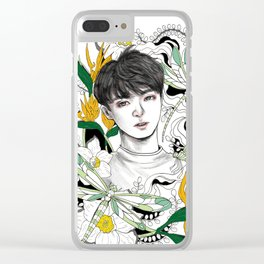BTS Jungkook Clear iPhone Case
