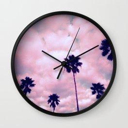 More Palms II Wall Clock