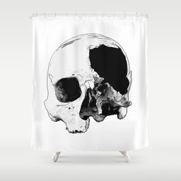 In Thee Dark We Live Shower Curtain