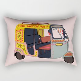 Ride with the Mob Rectangular Pillow