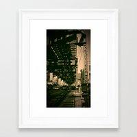 brooklyn Framed Art Prints featuring Brooklyn by metalmind