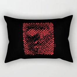 The Face of God Rectangular Pillow
