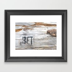 BET Framed Art Print