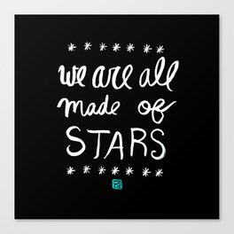 Made of Stars Canvas Print