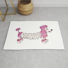 Slinky Poodle Rug