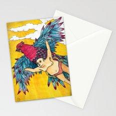 Lazy Tarzan - Flying Stationery Cards