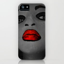 DearSoulie and Her Red Lips: Solid Baby iPhone Case