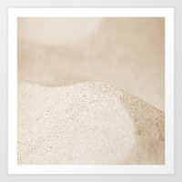 sand Art Prints featuring sand by  Agostino Lo Coco