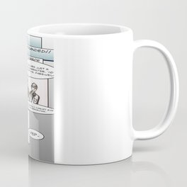 Sherlock Holmes and The Voice of Terror.  Coffee Mug