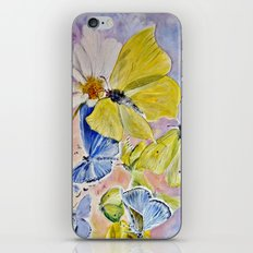 Springfluttering iPhone & iPod Skin