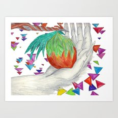 Alien Fruit Art Print