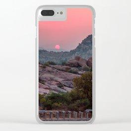Jungle book: sunrise Clear iPhone Case