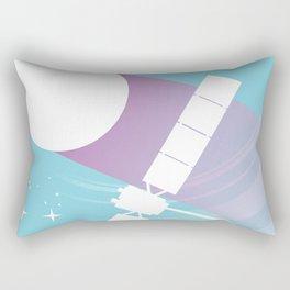 Deep Space 1 Rectangular Pillow