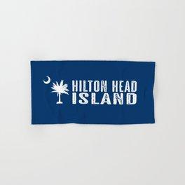 Hilton Head Island, South Carolina Hand & Bath Towel
