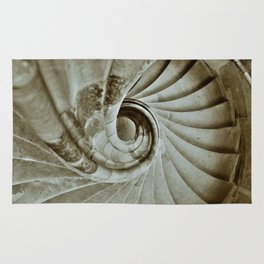 Sand stone spiral staircase 10 Rug