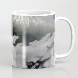 Yokoyama Taikan - Mount Fuji and Dragon - RYUODORU -Top Quality Image Edition Coffee Mug