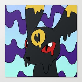 Melty Umbreon Canvas Print