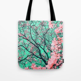 The tree from another dimension Tote Bag
