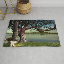 A quiet place Rug