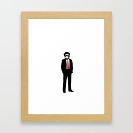 monkey man Framed Art Print