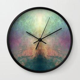 ABSTRACTION no6 Wall Clock