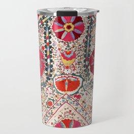 Lakai Suzani Uzbekistan Central Asian Embroidery Print Travel Mug