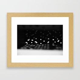 No Light Without Darkness Framed Art Print