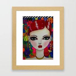 KASEY Framed Art Print