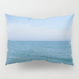 Floating to Blue Pillow Sham