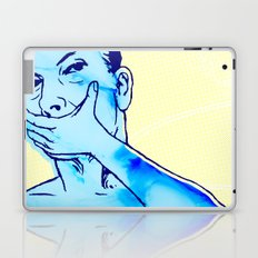 No, I don't even know your name Laptop & iPad Skin